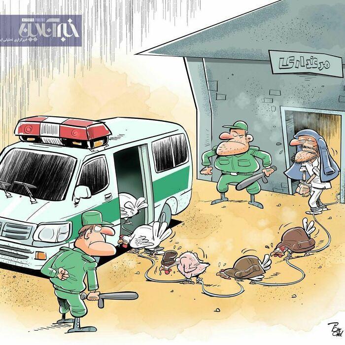60 Ilustrações digitais que expõem as falhas da sociedade atual por Alireza Pakdel 17