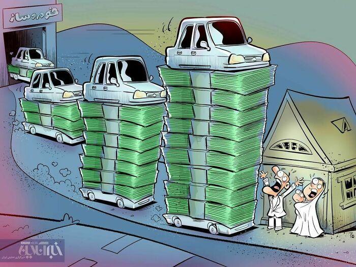 60 Ilustrações digitais que expõem as falhas da sociedade atual por Alireza Pakdel 8