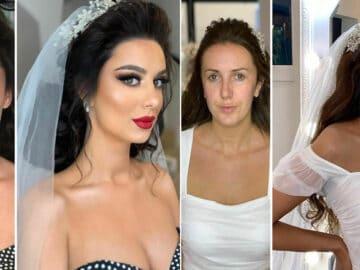 20 noivas antes e depois da maquiagem por Arber Bytyqi 36