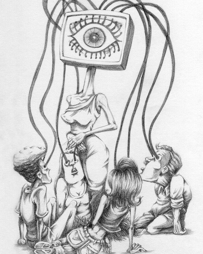 Os erros da sociedade atual em 55 ilustrações controversas 9