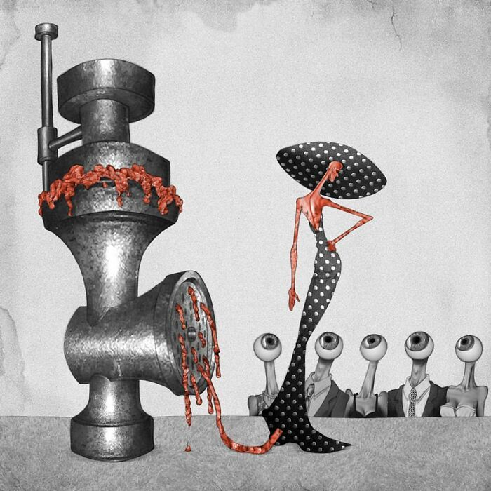 Os erros da sociedade atual em 55 ilustrações controversas 14