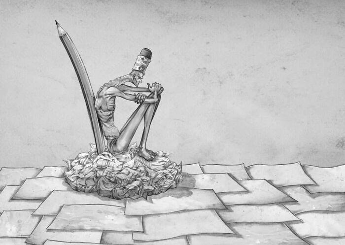 Os erros da sociedade atual em 55 ilustrações controversas 16