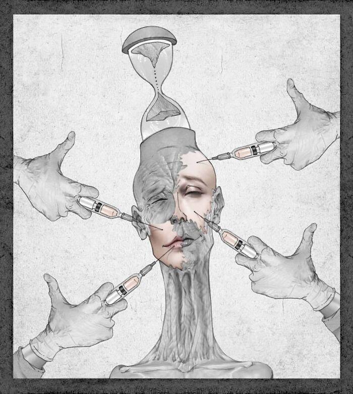 Os erros da sociedade atual em 55 ilustrações controversas 19