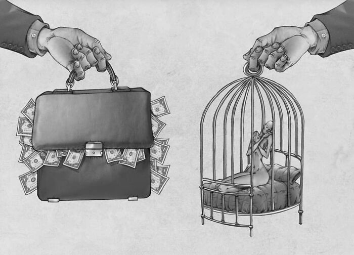 Os erros da sociedade atual em 55 ilustrações controversas 24