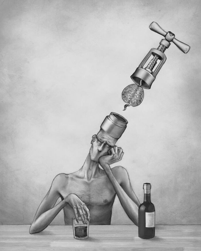 Os erros da sociedade atual em 55 ilustrações controversas 25