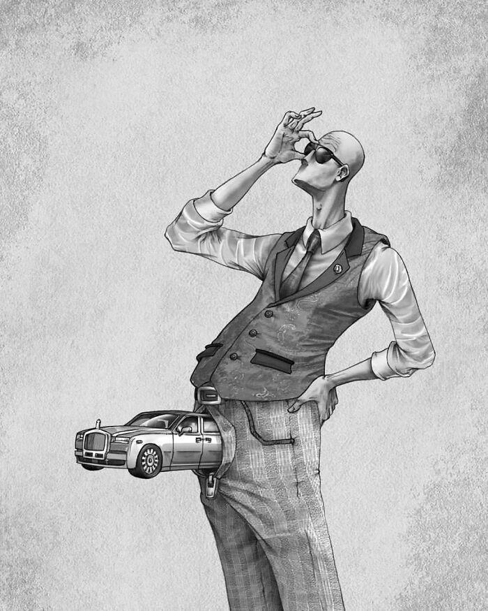 Os erros da sociedade atual em 55 ilustrações controversas 26