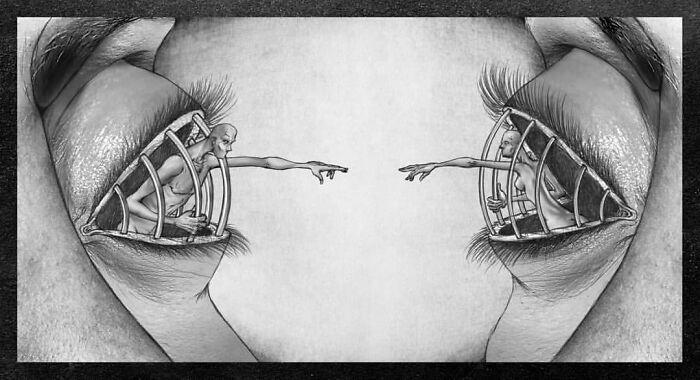 Os erros da sociedade atual em 55 ilustrações controversas 28