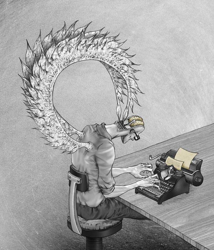 Os erros da sociedade atual em 55 ilustrações controversas 34