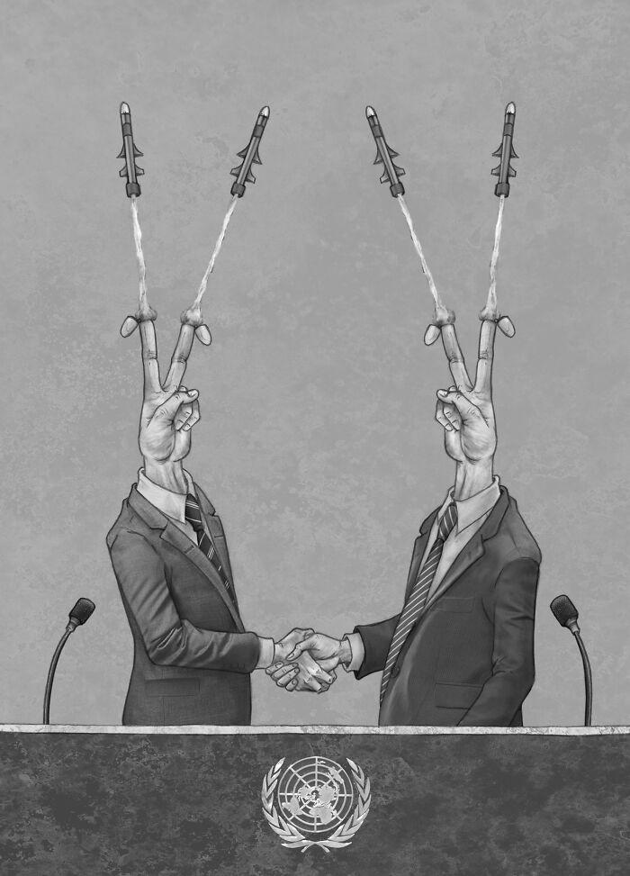 Os erros da sociedade atual em 55 ilustrações controversas 38