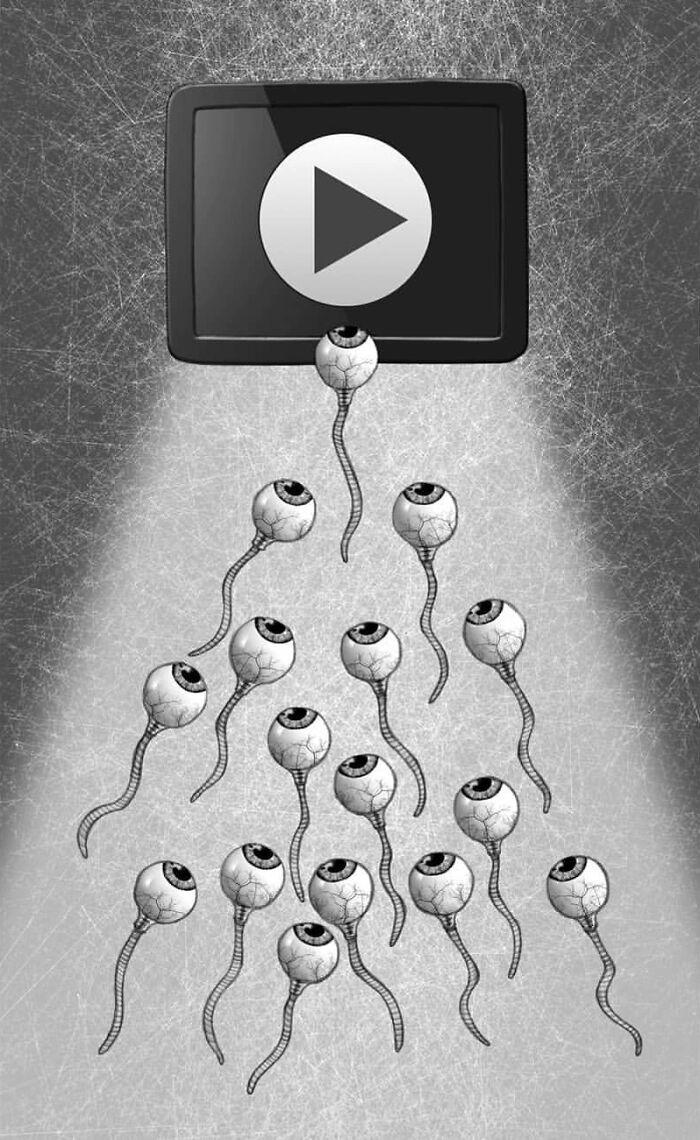 Os erros da sociedade atual em 55 ilustrações controversas 44
