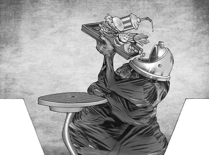 Os erros da sociedade atual em 55 ilustrações controversas 45