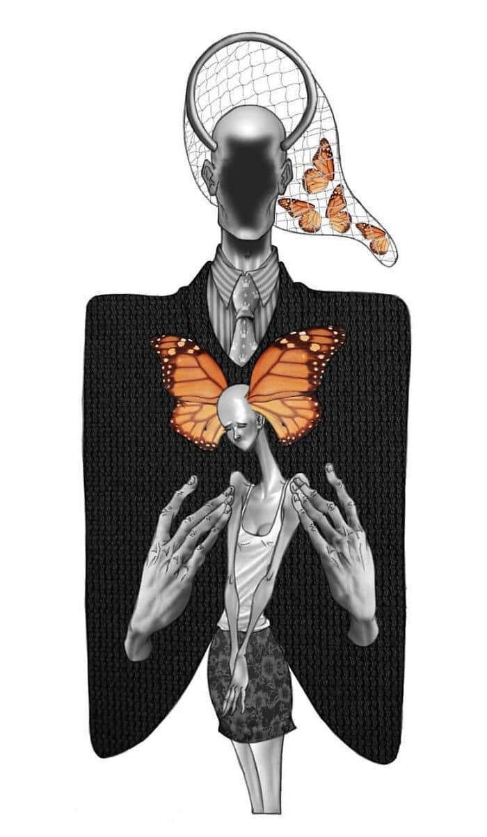 Os erros da sociedade atual em 55 ilustrações controversas 50