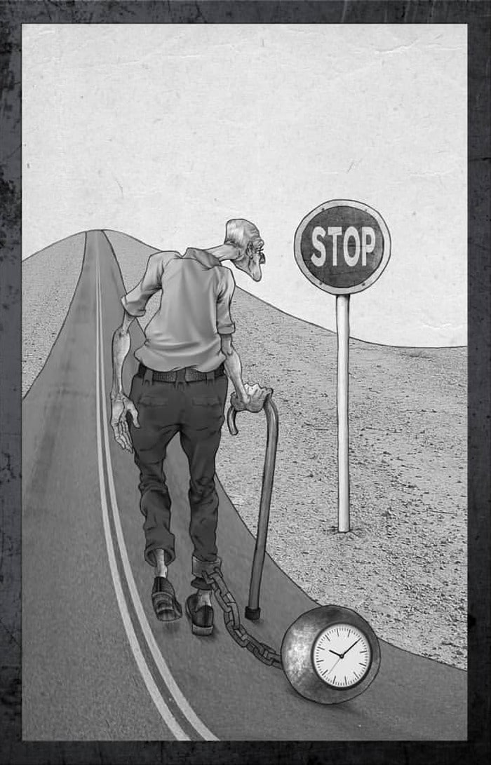 Os erros da sociedade atual em 55 ilustrações controversas 55