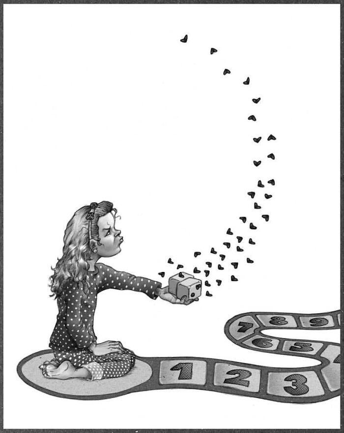 Os erros da sociedade atual em 55 ilustrações controversas 56