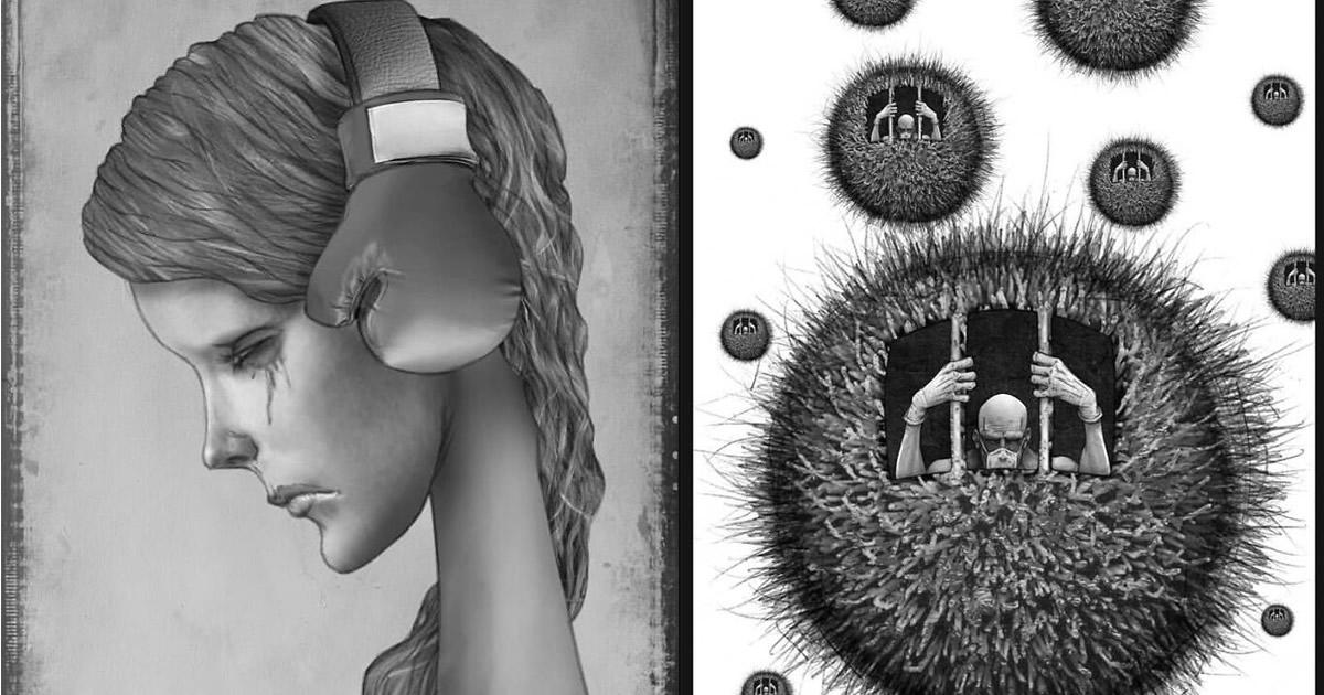 Os erros da sociedade atual em 55 ilustrações controversas 6