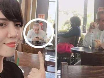 Pai acompanha filha em encontro do Tinder 3