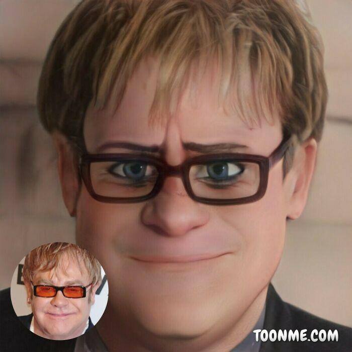 40 pessoas famosas se transformaram em personagens da Pixar com a ajuda do ToonMe 5