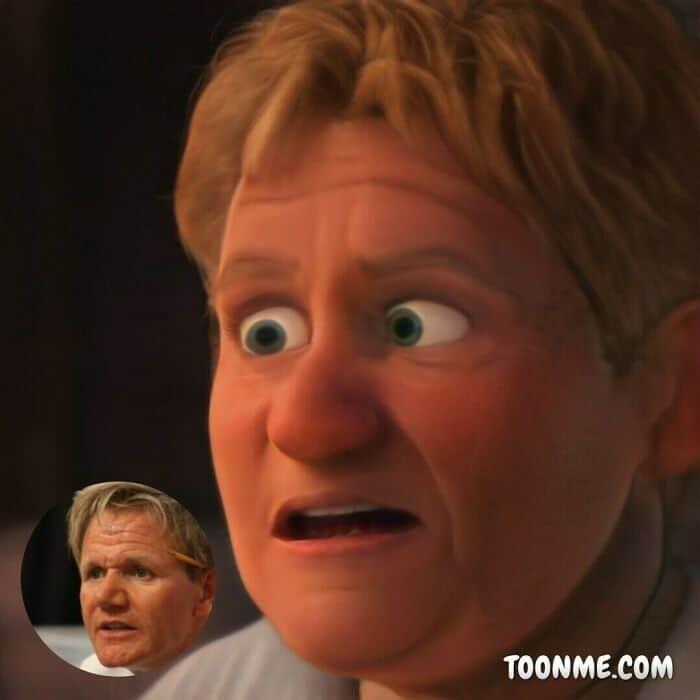 40 pessoas famosas se transformaram em personagens da Pixar com a ajuda do ToonMe 6