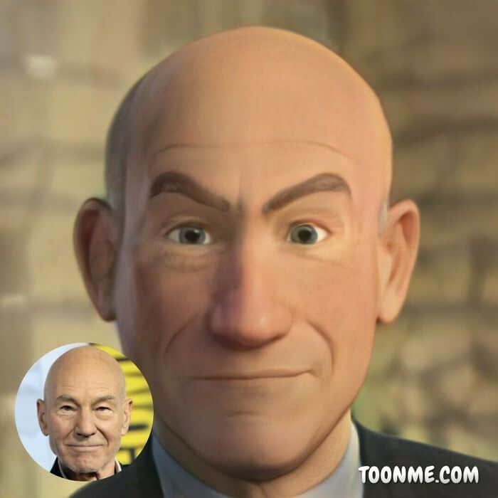 40 pessoas famosas se transformaram em personagens da Pixar com a ajuda do ToonMe 7