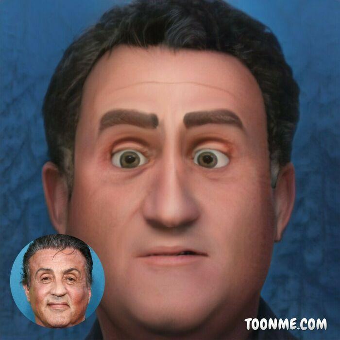 40 pessoas famosas se transformaram em personagens da Pixar com a ajuda do ToonMe 8