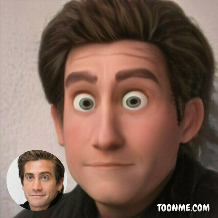 40 pessoas famosas se transformaram em personagens da Pixar com a ajuda do ToonMe 13