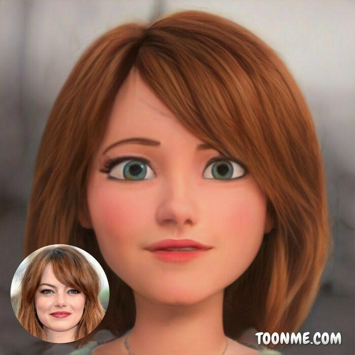 40 pessoas famosas se transformaram em personagens da Pixar com a ajuda do ToonMe 17