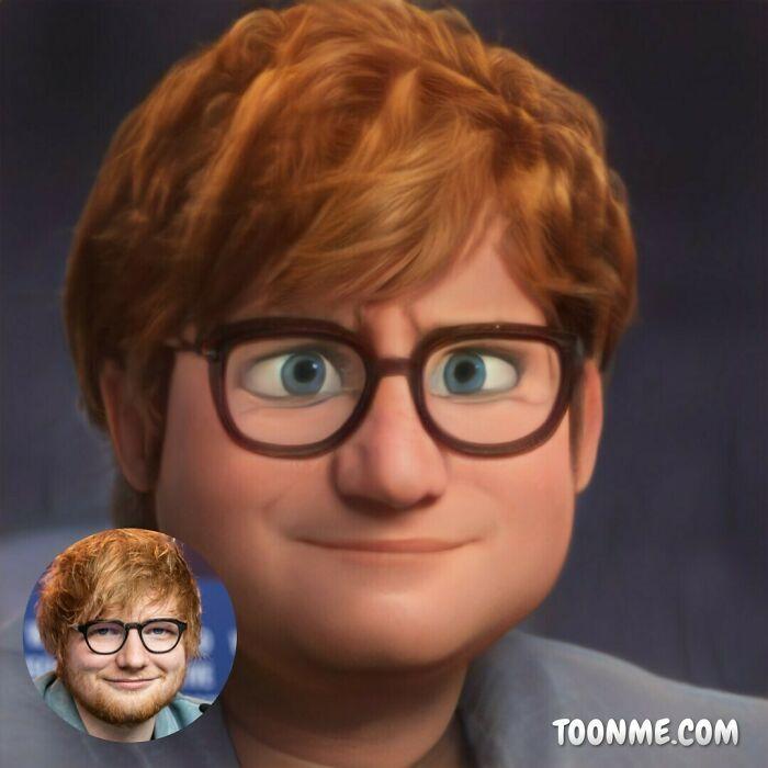 40 pessoas famosas se transformaram em personagens da Pixar com a ajuda do ToonMe 18