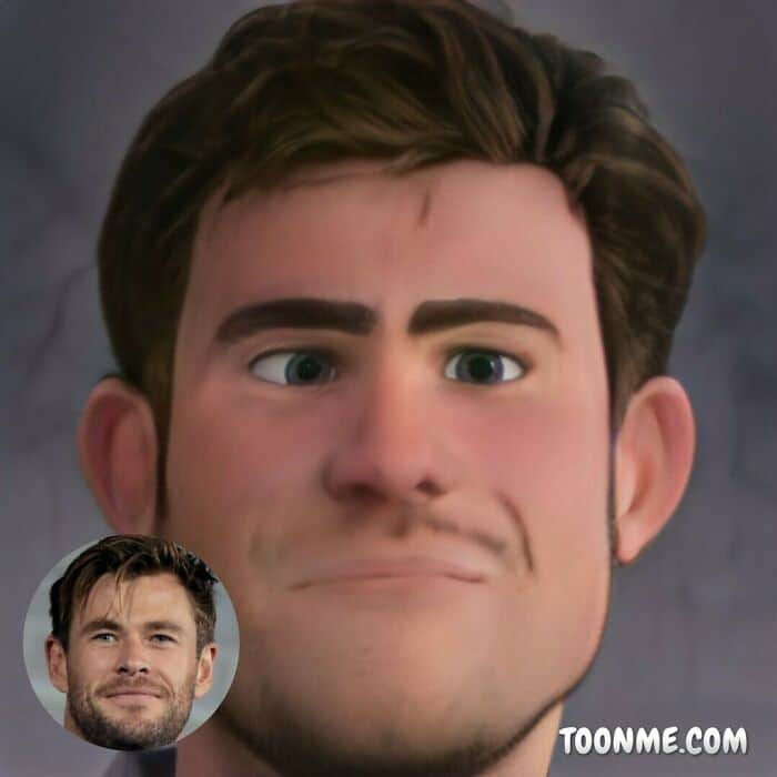 40 pessoas famosas se transformaram em personagens da Pixar com a ajuda do ToonMe 22