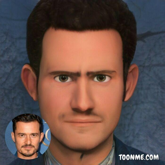 40 pessoas famosas se transformaram em personagens da Pixar com a ajuda do ToonMe 26