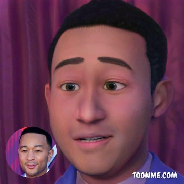 40 pessoas famosas se transformaram em personagens da Pixar com a ajuda do ToonMe 32