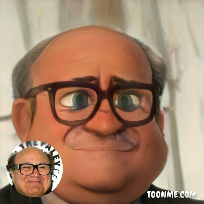 40 pessoas famosas se transformaram em personagens da Pixar com a ajuda do ToonMe 33