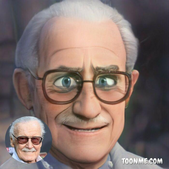 40 pessoas famosas se transformaram em personagens da Pixar com a ajuda do ToonMe 34