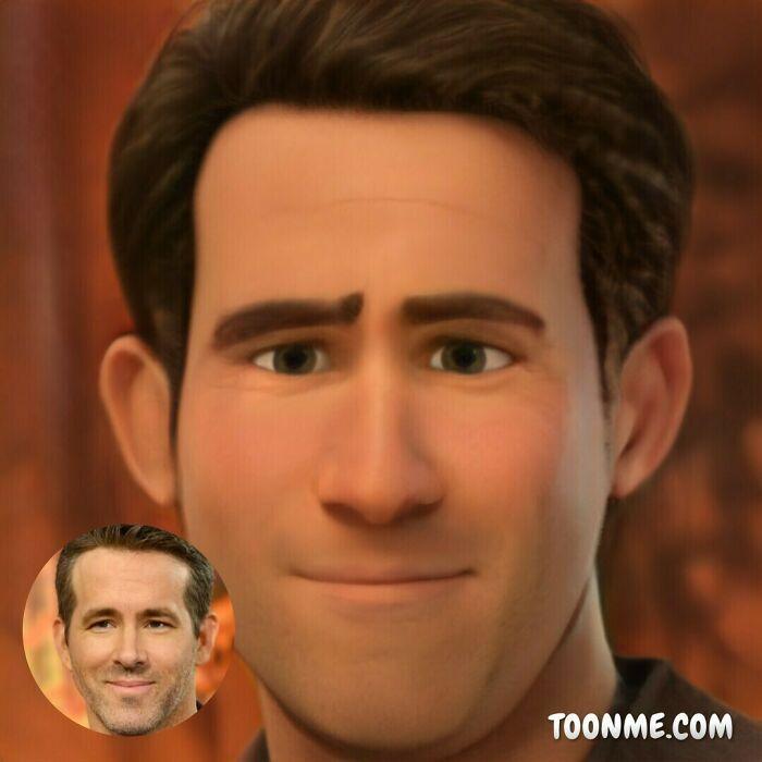 40 pessoas famosas se transformaram em personagens da Pixar com a ajuda do ToonMe 35