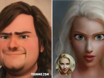 40 pessoas famosas se transformaram em personagens da Pixar com a ajuda do ToonMe 2