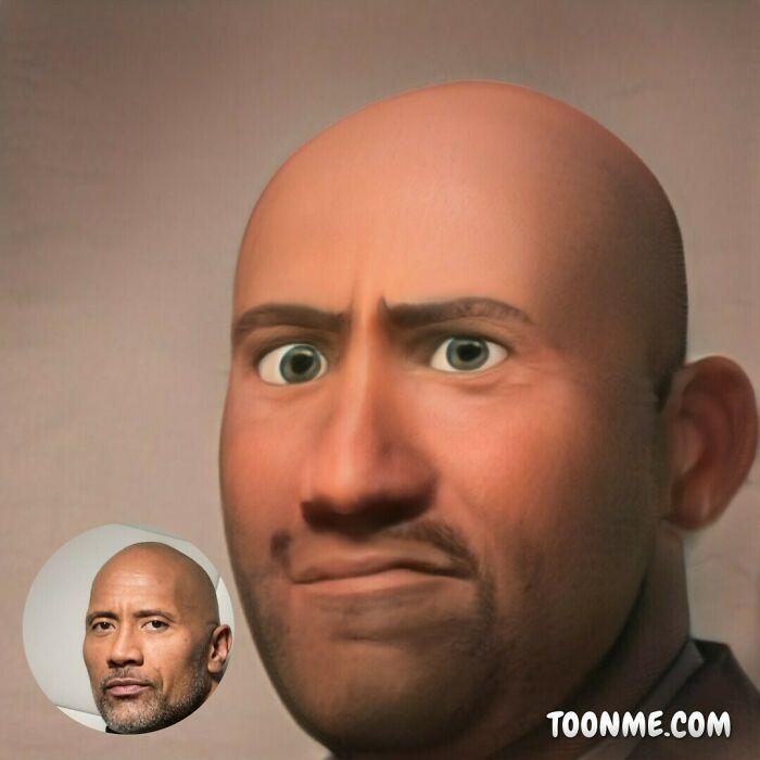 40 pessoas famosas se transformaram em personagens da Pixar com a ajuda do ToonMe 38