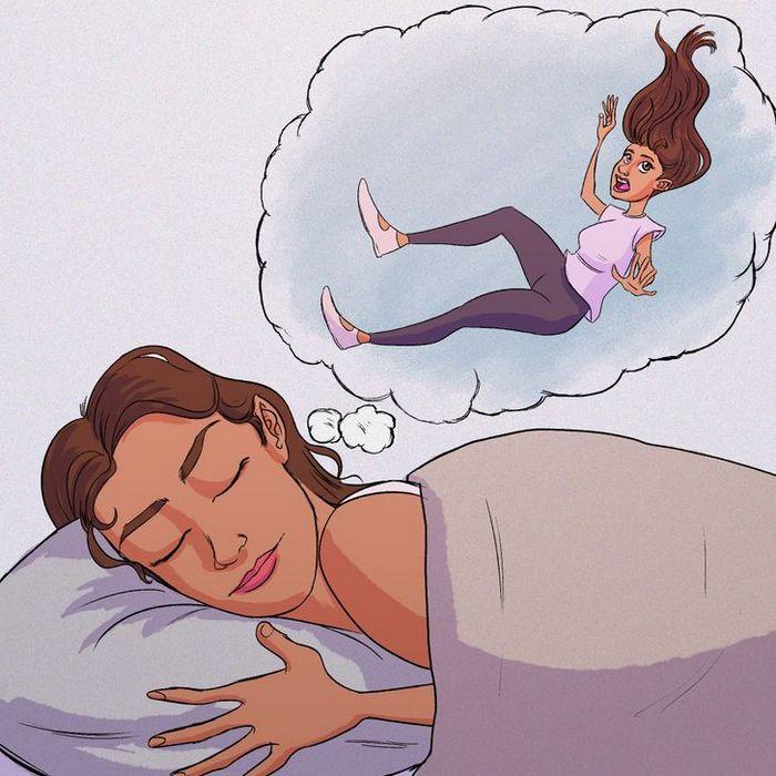 Por que às vezes temos a sensação de cair quando estamos dormindo? 3