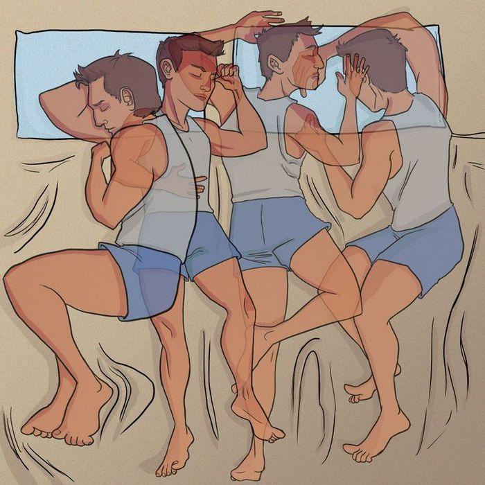 Por que às vezes temos a sensação de cair quando estamos dormindo? 6