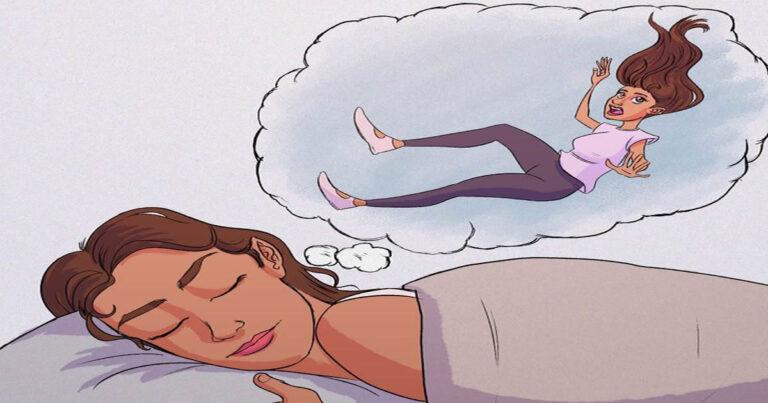 Por que às vezes temos a sensação de cair quando estamos dormindo? 1