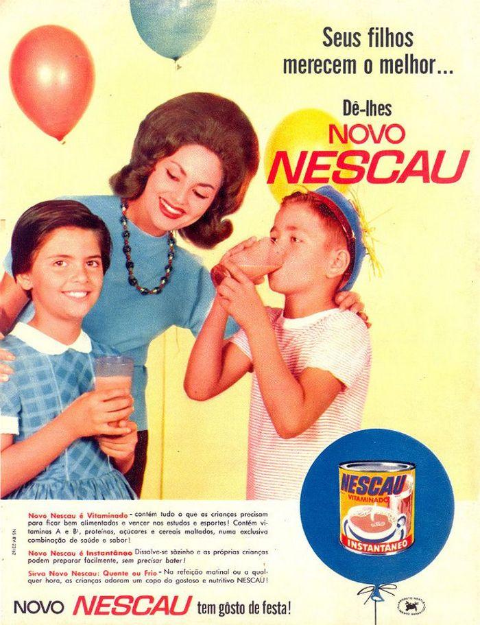 22 propagandas brasileiras antigas de guloseimas 8