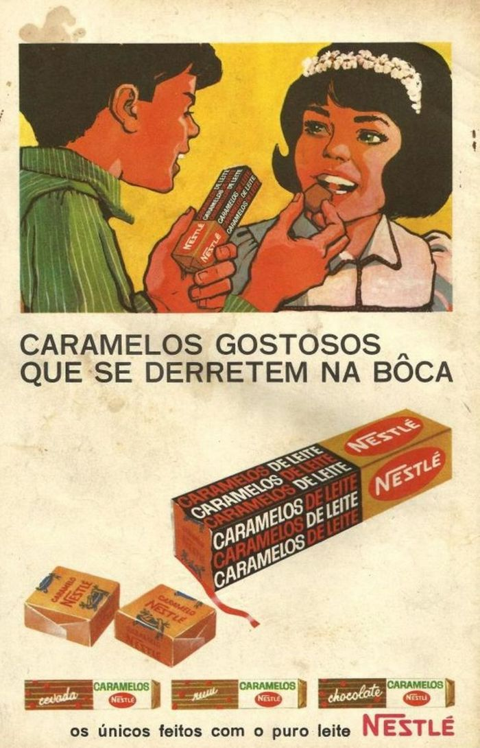 22 propagandas brasileiras antigas de guloseimas 10
