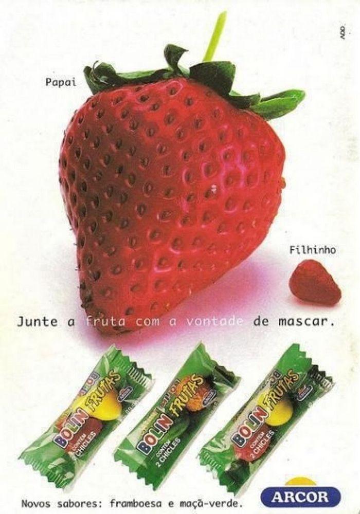 22 propagandas brasileiras antigas de guloseimas 13