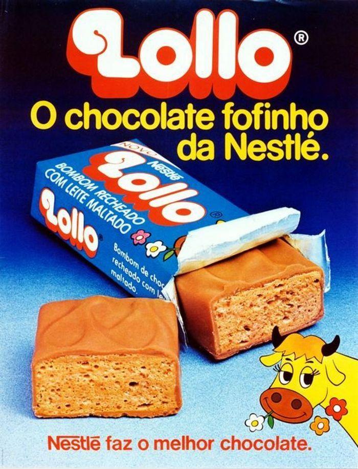 22 propagandas brasileiras antigas de guloseimas 16