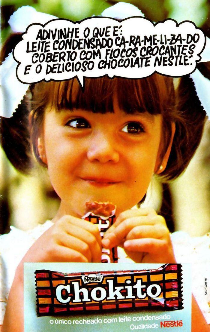 22 propagandas brasileiras antigas de guloseimas 19