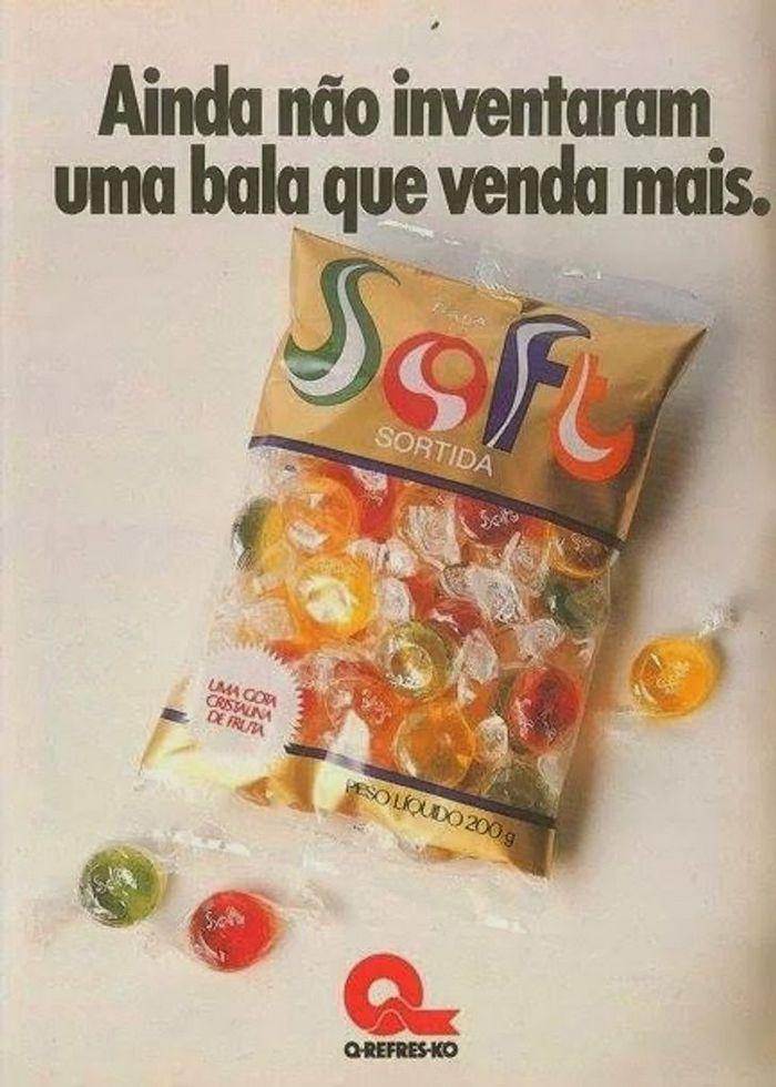 22 propagandas brasileiras antigas de guloseimas 20