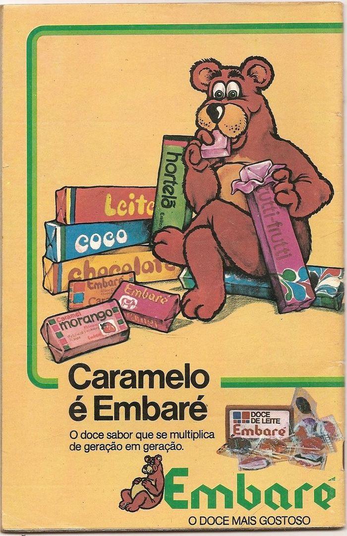 22 propagandas brasileiras antigas de guloseimas 21