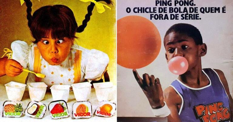 22 propagandas brasileiras antigas de guloseimas 1