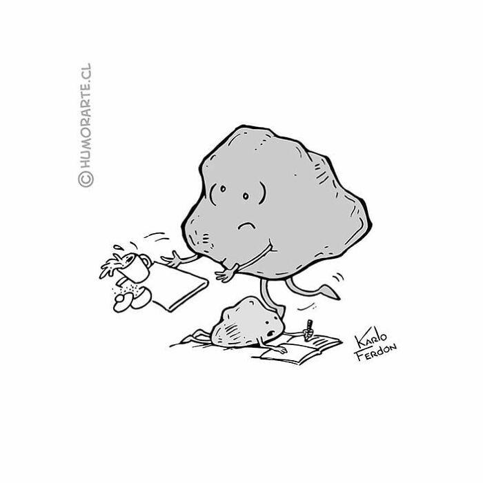 30 quadrinhos curtos e humorísticos de Karlo Ferdon 3