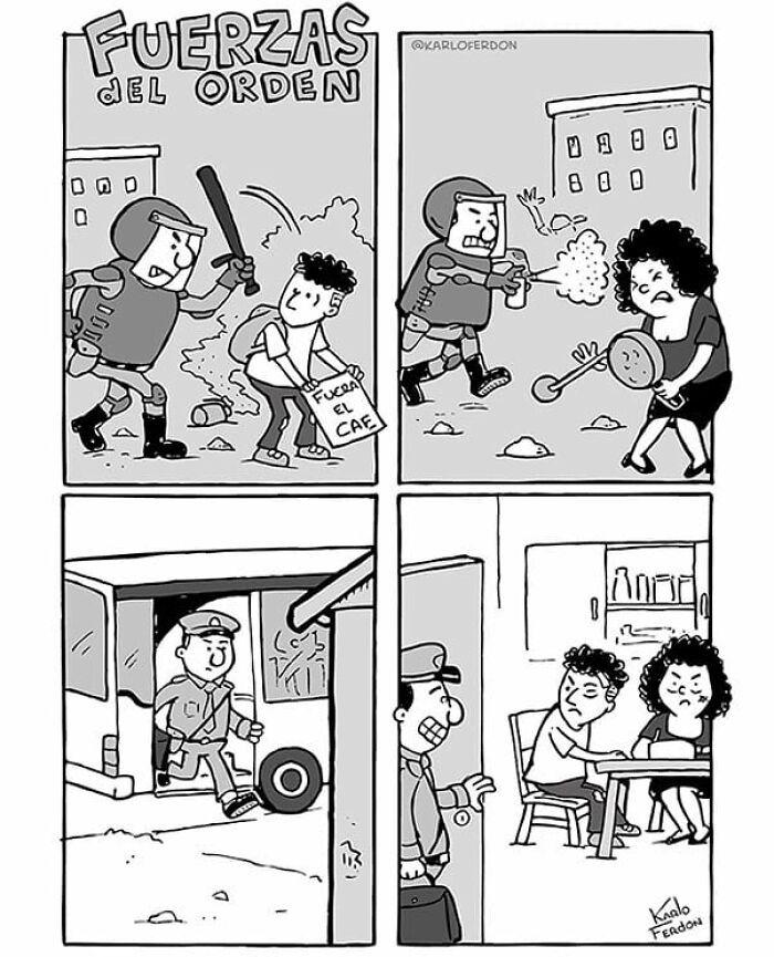 30 quadrinhos curtos e humorísticos de Karlo Ferdon 8