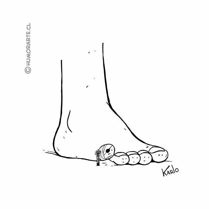 30 quadrinhos curtos e humorísticos de Karlo Ferdon 22