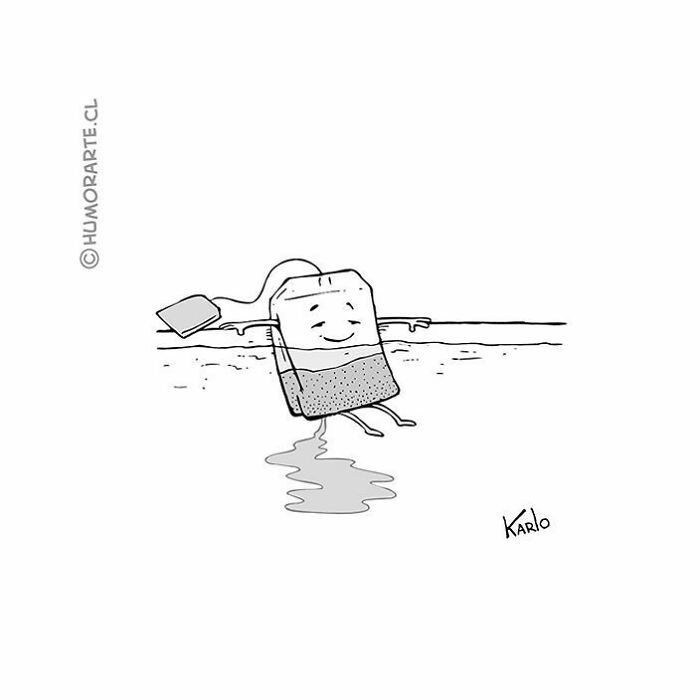 30 quadrinhos curtos e humorísticos de Karlo Ferdon 23